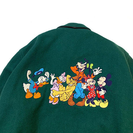 🏰1991 DISNEY WOOL JACKET MADE IN USA🇺🇸 size L