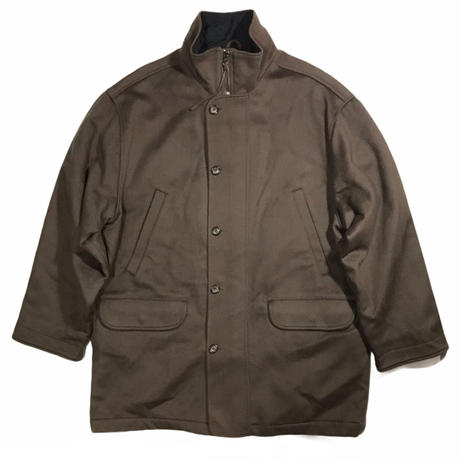 Eddie Bauer Wool Jkt with Thinsulate Liner Size-L Middle Length