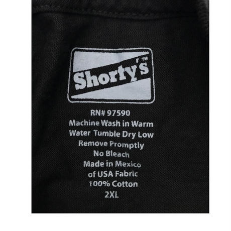 "SHORTY'S ""S-HORTYS-S"" T-shirt Size-XXL"