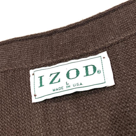 IZOD CARDIGAN MADE IN USA size L