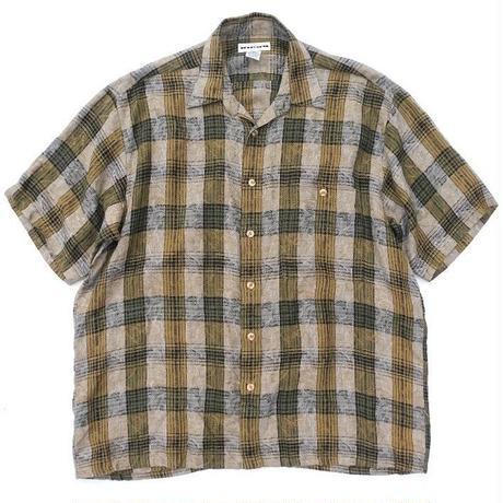 ALBERT  NIPON  100%LINEN Shirt SIZE-L