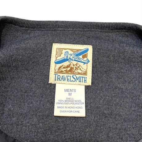 TRAVEL SMITH MERINO WOOL CARDIGAN size L程