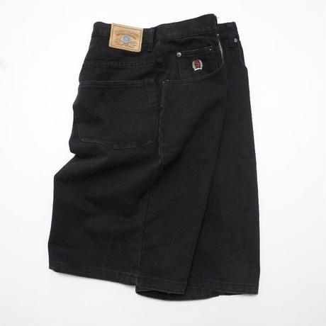 TOMMY HILFIGER Black Denim Shorts W30