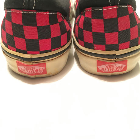 90s VANS Slip-op Size-29cm US11 MADE IN CHINA