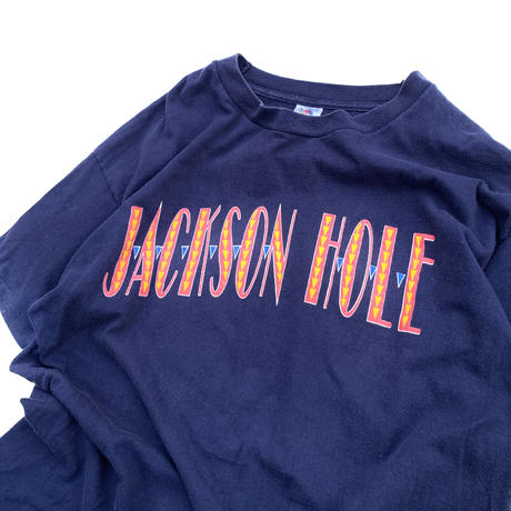 JAKSON HOLE T-SHIRT MADE IN USA sizeL