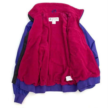 Columbia Fleece Liner Nylon Jacket size L