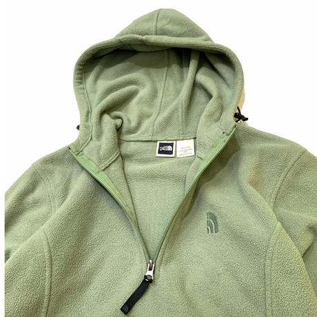 WOMEN'S THE NORTH FACE FLEECE HOODIE size Womens・L