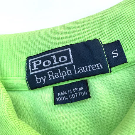 Polo Ralph Lauren Pile Polo Shirt size S