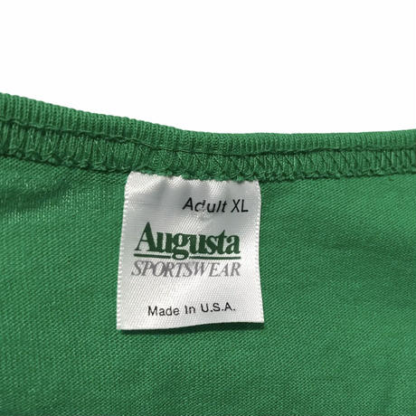 Augusta SPORTS WEAR Henry neck Tee Size-XL Condition-mintMADE IN USA 90s~