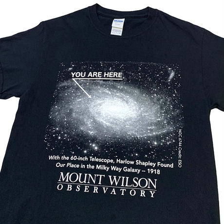 Mount Wilson Observatory You Are Here T-shirt size S