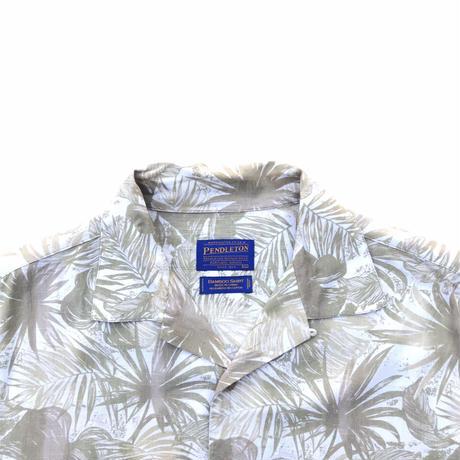 PENDLETON BAMBOO🎋×COTTON S/s Shirts Size-XL