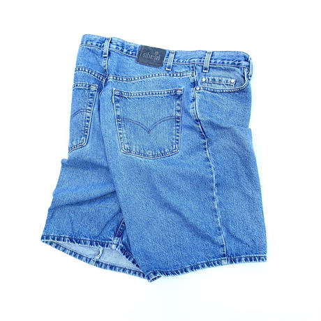 silver Tab denim shorts made in usa  size 38 inch