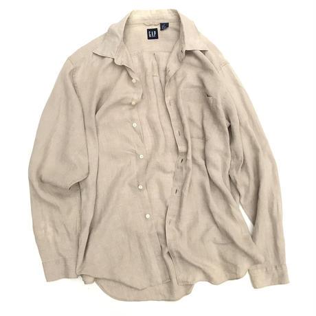 GAP 100% LINEN L/s Shirt Size-L