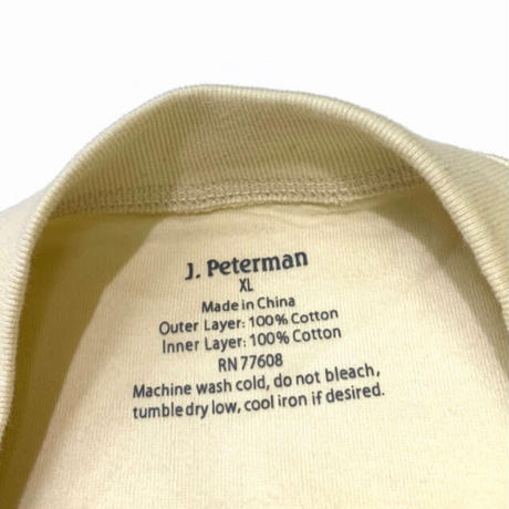 J.PETERMAN W- FACE SHIRT size XL