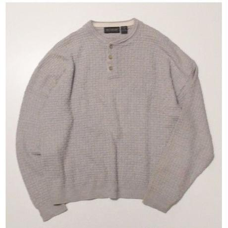 Henley Neck Knit L