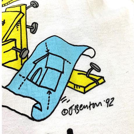 1992  Jim Benton Mr. Fix-it T-shirt Made in usa size L