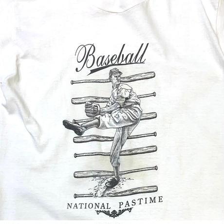 90's BASEBALL T-SHIRT MADE IN USA🇺🇸 size S〜M程