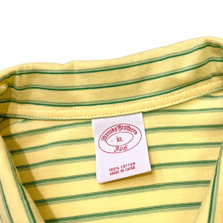 Brooks Brothers Border Polo Shirt size M〜L程