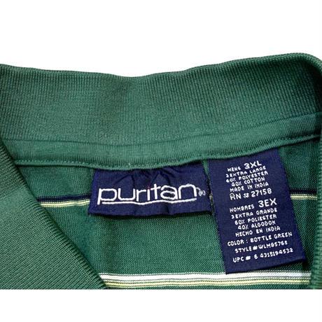 Puritan Border Polo Shirt size XXL程