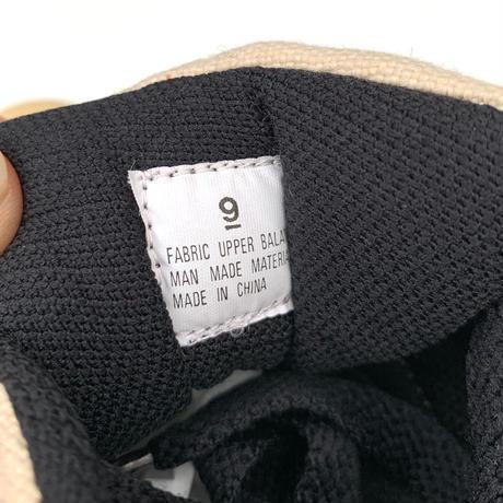 F SHOERS Hemp fabric Size-27cm us9