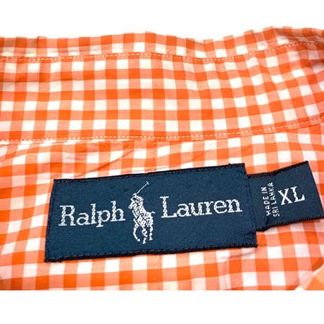 New Ralph Lauren Checkered Shirt size XL