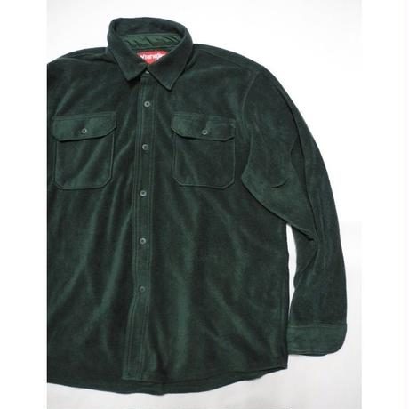 Wrangler  Fleece shirt L Green