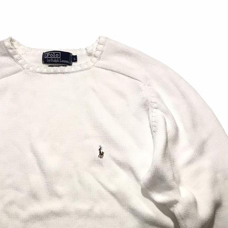 Polo Ralph Lauren🐎 Cotton knit Size-L