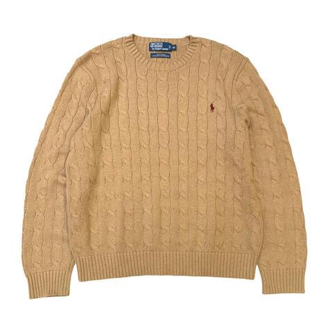 Polo Ralph Lauren Cotton Cable knit size XL