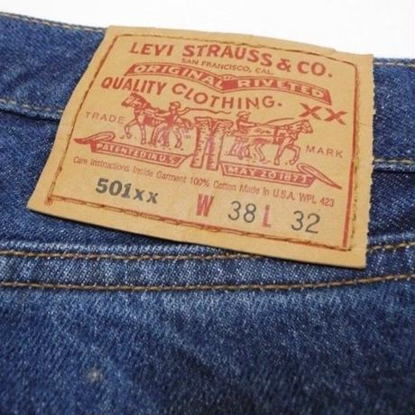 90's Levi's 501 MADE IN USA W38