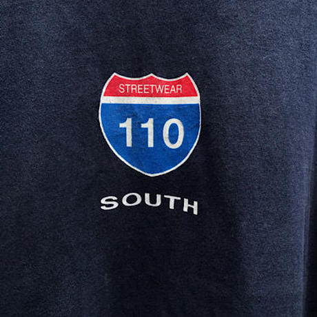 STREETWEAR 110 SOUTH T-shirt Size-XL MADE IN USA