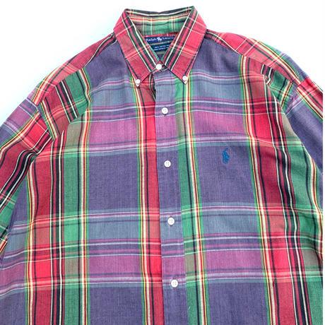 Polo Ralph Lauren S/S Check Shirt size L程