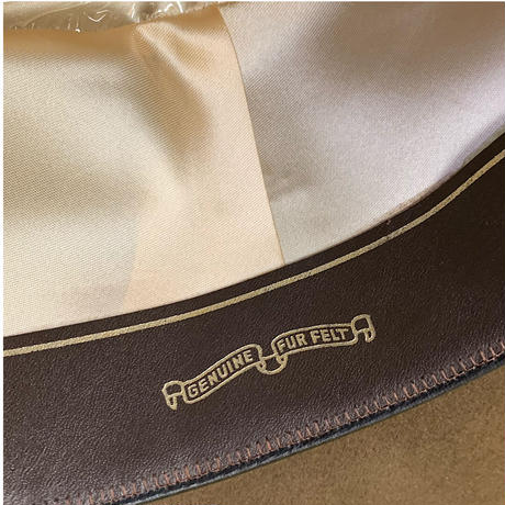 NEW BANANA REPUBLIC FUR FELT HAT size 58cm