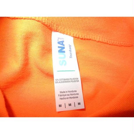 NEW Orange Reflector L/s T-shirt SIZE-M
