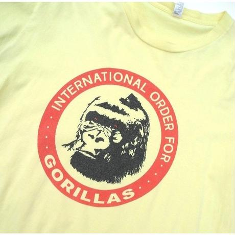 International order for gorillas🎥  T-shirt by american apparel size-L