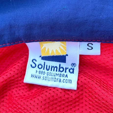 "Solumbra ""sun protection"" Nylon Pullover Made in usa size S"