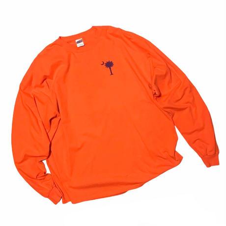 🌴🌙 Orange L/s Tee Size-XXL