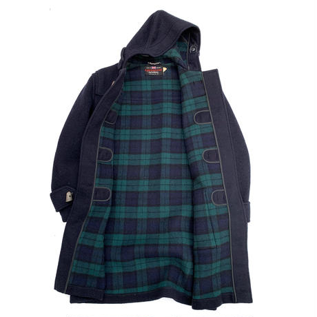 TARTANEER BY GLOVERALL DUFFLE COAT MADE IN ENGLAND size 38