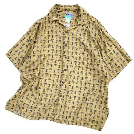 reyn spooner aloha shirt  size L