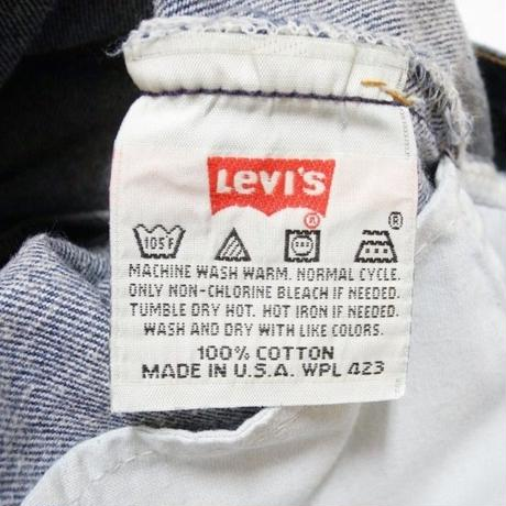 90's Levi's 501 MADE IN USA W34