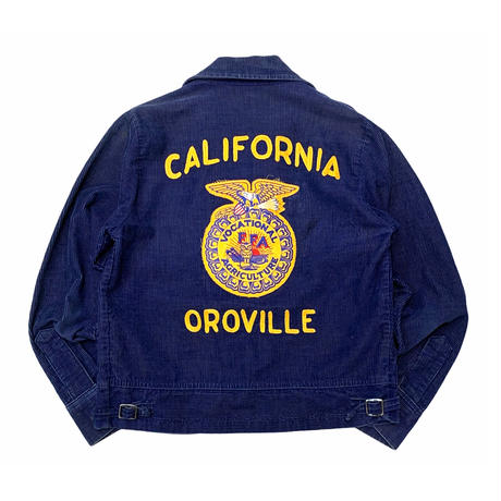 70's〜Lady's FFA Corduroy Jacket size S程
