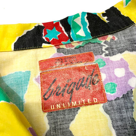 Brigade Unlimited Aloha Shirt Made in usa size L