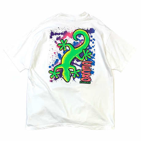 80-90's GECKO T-SHIRT MADE IN USA🇺🇸 size XL