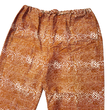AFRICAN PATTERN EASY PANTS size 〜42inch程