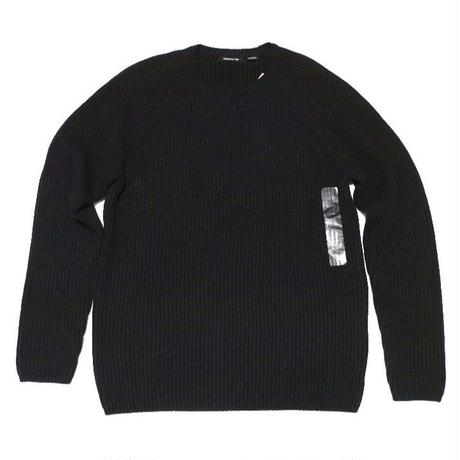 NEW claiborne Black Knit  cotton60% acrylic40% M