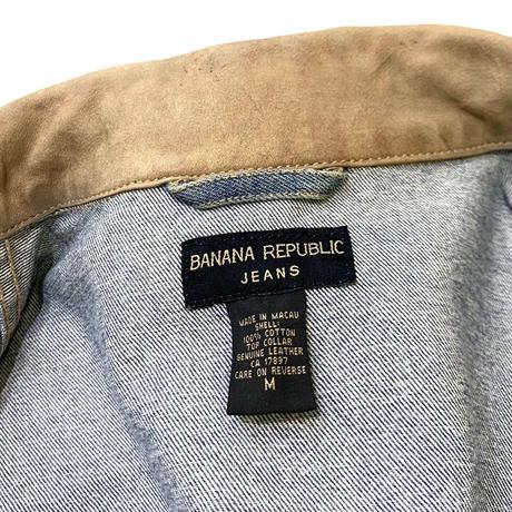 BANANA REPUBLIC DENIM JACKET size M〜L程