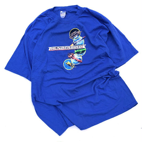 2004 THUNDERBIRDS T-SHIRT size XL