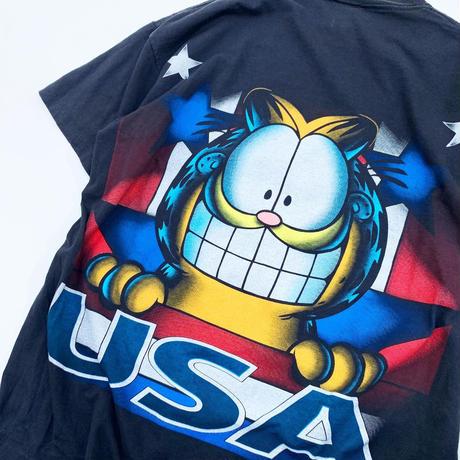 GARFIELD USA T-shirt madeinusa XL