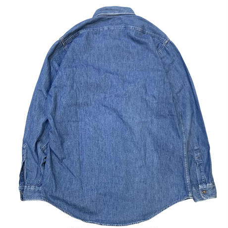 BANANA REPUBLIC DENIM SHIRT MADE IN USA🇺🇸 (DEAD STOCK) size M