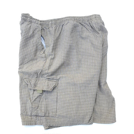 FADED GLORY  Check Cargo Shorts Size-XL