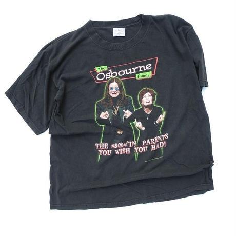 2002 The Osbourne Family T-shirt size-XL
